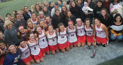 With 154 wins, women's field hockey sets record: A triumph for Title IX?